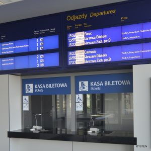 wyświetlacze informacji pasażerskiej dla kolei WGS7X2