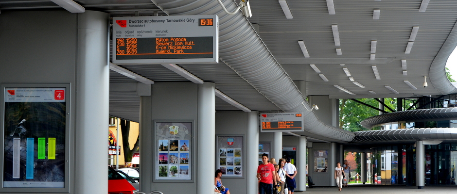 Real-time Passenger Information displays