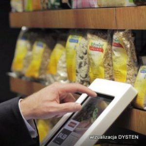 Interaktywne monitory dotykowe w punktach sprzedaży