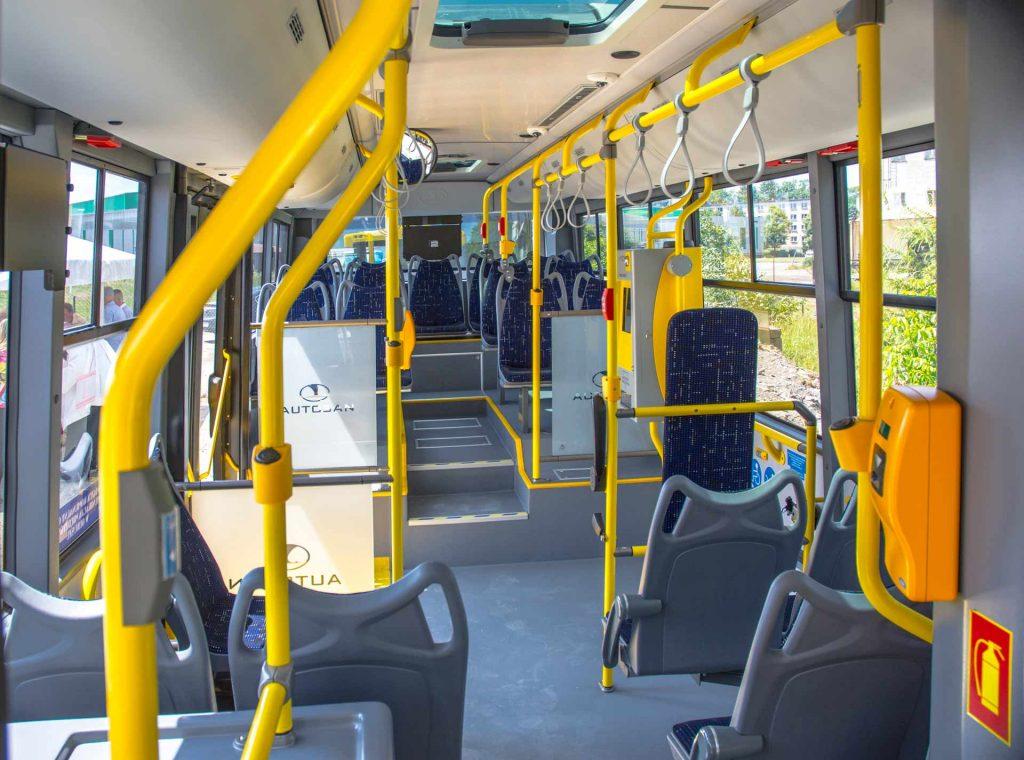 Olkusz tablica informacji pasażerskiej i 23 nowe autobusy