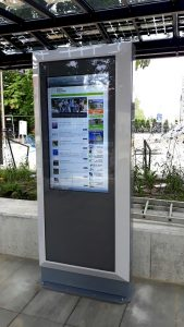 infokiosk infobox informacja pasażerska